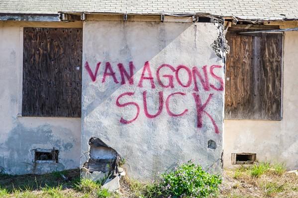 Vanagons - PHOTO BY JAYSON MELLOM