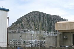 UP FOR DISCUSSION The Morro Bay City Council continues to debate the sewer rate increases that will fund its new wastewater treatment plant. - FILE PHOTO