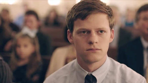 OUTED Jared (Lucas Hedges), a Baptist preacher's son, is forced into a gay conversion program after he's outed to his parents, in Boy Erased, screening exclusively at The Palm Theatre. - PHOTO COURTESY OF FOCUS FEATURES