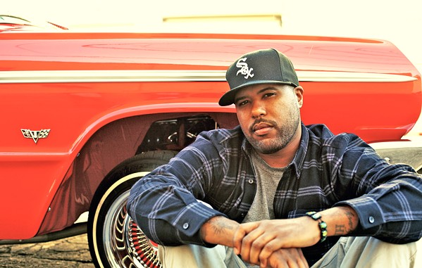 'MY TYPE OF PARTY' LA rapper Dom Kennedy brings his 2Pac, LL Cool J, and Outkast-inspired hip-hop sounds to the Fremont on Nov. 23. - PHOTO COURTESY OF DOM KENNEDY