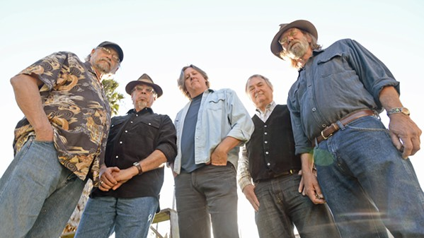 RED BARN BOUND Phil Salazar and the Kin Folk will bring their Americana sounds to Los Osos' Red Barn on Dec. 1. - PHOTO COURTESY OF PHIL SALAZAR AND THE KIN FOLK