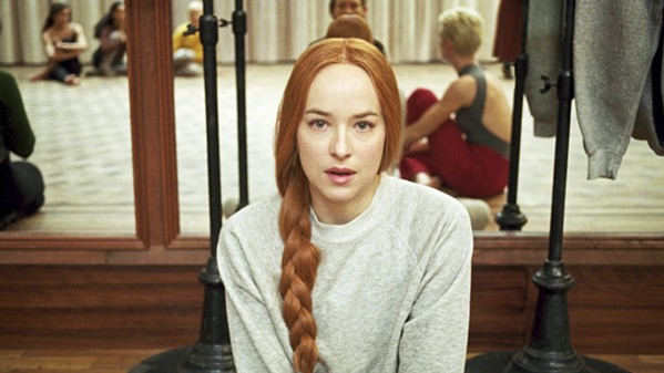 GOOD WITCH? Susie Bannion (Dakota Johnson), a young American woman, enters a prestigious Berlin dance academy that happens to be run by a coven of witches, in Suspiria. - PHOTO COURTESY OF FRENESY FILM COMPANY