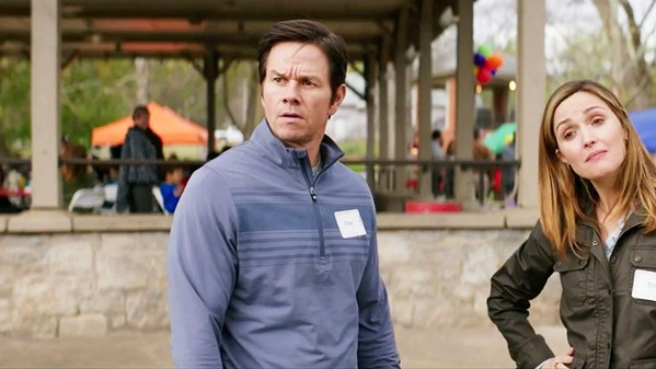 GOT KIDS? Married couple Pete (Mark Wahlberg) and Ellie (Rose Byrne) adopt three children, sending their lives into utter chaos, in Instant Family. - PHOTO COURTESY OF PARAMOUNT PICTURES