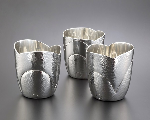 Pewter cups by Randy Stromsoe. - PHOTO COURTESY OF RANDY STROMSOE