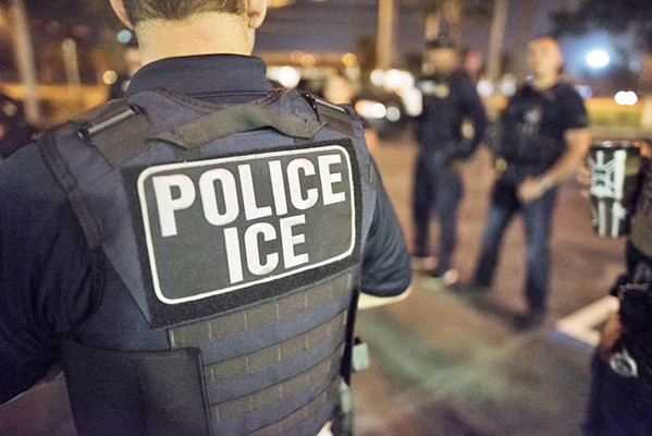 DETAINED AND DEPORTED Reports of a young man being arrested by ICE agents as he left the SLO County Jail have raised concerns about the federal agency's activities in SLO County. - PHOTO COURTESY OF ICE
