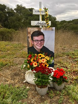 REMEMBERING LIFE After their son, Jordan Grant, died in a motorcycle accident, James and Becky Grant are asking for a change at the El Campo intersection on Highway 101. - PHOTO COURTESY OF JORDAN GRANT'S FACEBOOK MEMORIAL PAGE