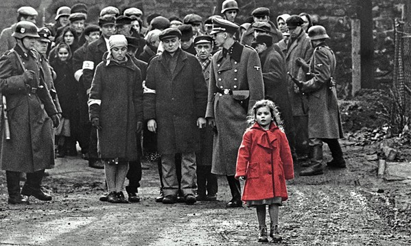 LITTLE GIRL DOOMED Steven Spielberg's 1993 masterpiece Schindler's List returns to the big screen for its 25th anniversary. - PHOTO COURTESY OF AMBLIN ENTERTAINMENT