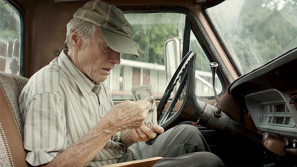 NEVER TOO OLD Clint Eastwood directs himself as Earl Stone, a horticulturist and World War II vet who's caught in Michigan running $3 million worth of Mexican cartel cocaine, in The Mule. - PHOTO COURTESY OF WARNER BROS.