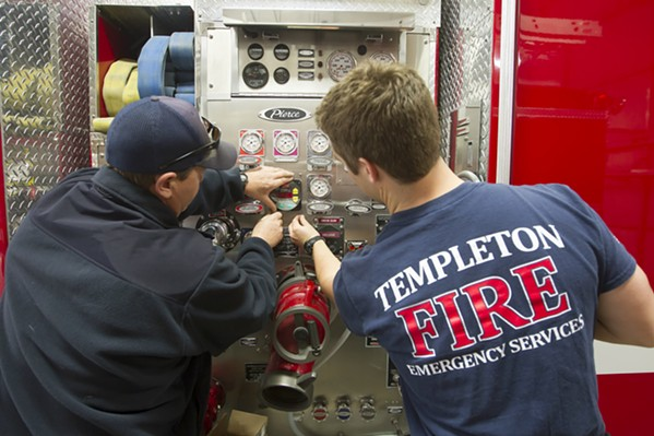 LAST RESORT Templeton Fire and Emergency Services officials say the department is underfunded, and the community may vote on a new parcel tax in a special election. - FILE PHOTO BY JAYSON MELLOM