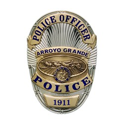 PURSUIT Arroyo Grande Police arrested a 14-year-old who they say led them on a pursuit in a stolen vehicle. - FILE PHOTO COURTESY OF THE ARROYO GRANDE POLICE DEPARTMENT