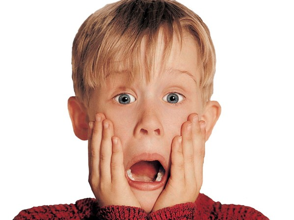 TROUBLEMAKER Kevin McCallister (Macaulay Culkin) is accidently left behind on Christmas vacation, forcing him to fend for himself and fight off two burglars, in the 1990 classic Home Alone, screening on Dec. 21, at the Fremont Theater (free, but reserve tickets required at fremontslo.com). - PHOTO COURTESY OF TWENTIETH CENTURY FOX