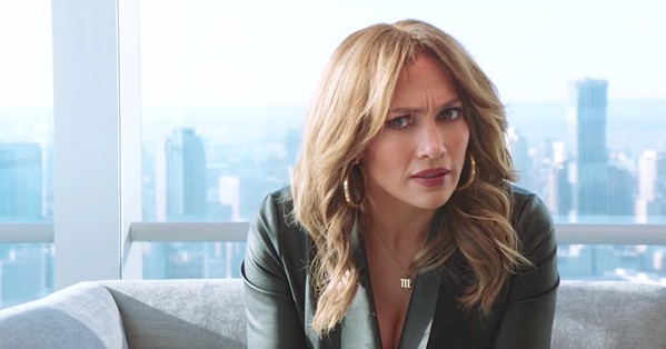 IMPOSTER Former big-box store worker Maya (Jennifer Lopez) is hired on Madison Avenue under false pretenses, forcing her to use her street smarts to get ahead, in Second Act. - PHOTO COURTESY OF STX ENTERTAINMENT