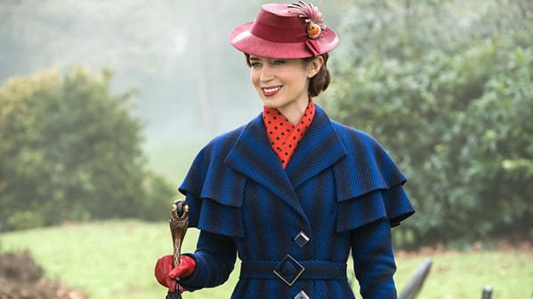 STILL MAGIC Emily Blunt stars as Mary Poppins, a magical nanny who comes to help the troubled Banks family. - PHOTOS COURTESY OF WALT DISNEY PICTURES