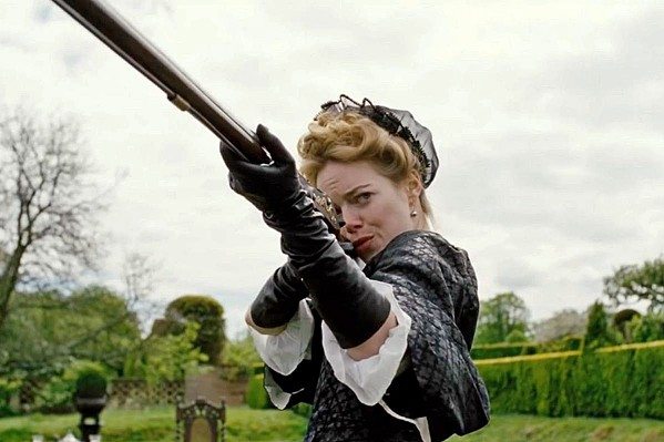 ON THE RISE Abigail (Emma Stone), a new servant to Queen Anne, connives herself into a position of power, in The Favourite. - PHOTO COURTESY OF ELEMENT PICTURES