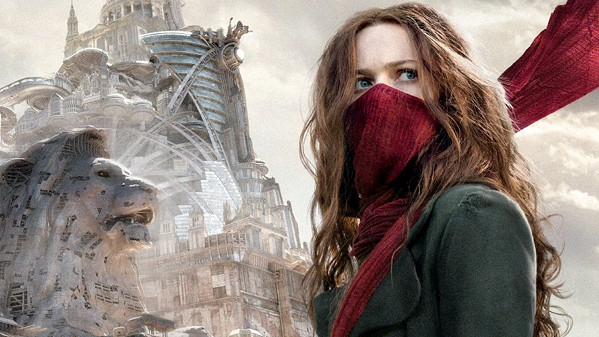 LONDON CALLING Hester Shaw (Hera Hilmar) works to stop London, a mobile predator city, from destroying everything in its path, in Mortal Engines. - PHOTO COURTESY OF MEDIA RIGHTS CAPITAL