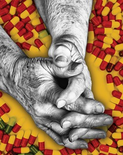 PILLS PROBLEM For seniors facing addiction problems, the consequences can be serious. - PHOTOS BY JAYSON MELLOM