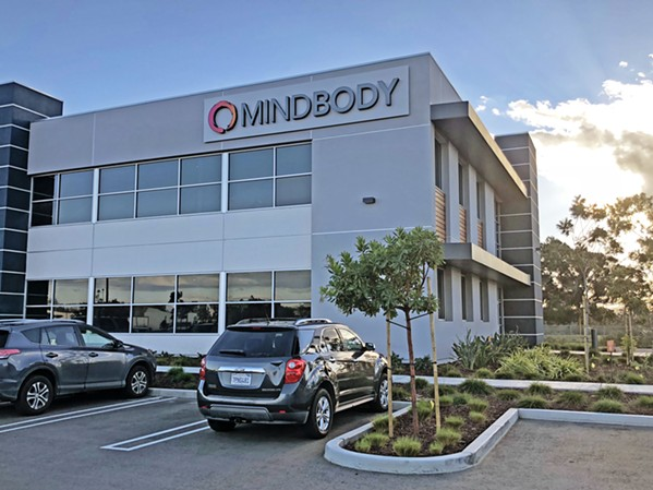 PLANNED ACQUISITION Mindbody, a tech company with headquarters in San Luis Obispo and an office in Santa Maria (pictured), announced on Dec. 24 that Vista Equity Partners planned to acquire the company for $1.9 billion. - PHOTO BY JOE PAYNE
