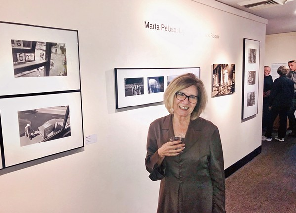 SLOCAL Photographer Marta Peluso has previously served as Cuesta College's art gallery director and as the executive director for Arts Obispo. - PHOTO COURTESY OF TONY HERTZ