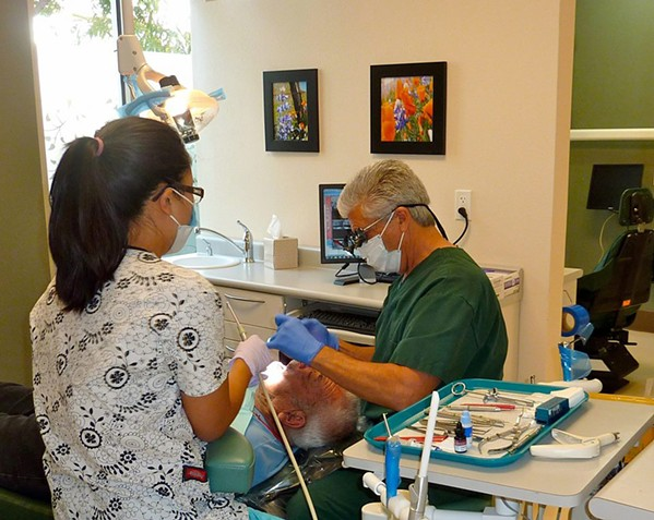 HELPING THOSE IN NEED The nonprofit SLO Noor Foundation offers free dental, medical, and vision care to uninsured individuals in SLO and Northern Santa Barbara counties. The foundation relies on local doctors, nurses, dentists, and other medical professionals who volunteer their time and services. - PHOTO COURTESY OF THE SLO NOOR FOUNDATION