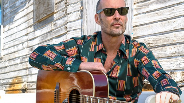 SON OF A PREACHER MAN Southern blues-country-rock-gospel artist Paul Thorn plays the Fremont Theater on Jan. 17. - PHOTO COURTESY OF PAUL THORN