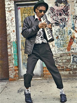 NEW ORLEANS ROYALTYLate Night with Stephen Colbert  musical director Jon Batiste plays a solo concert at the Performing Arts Center on Jan. 12. - PHOTO COURTESY OF JON BATISTE