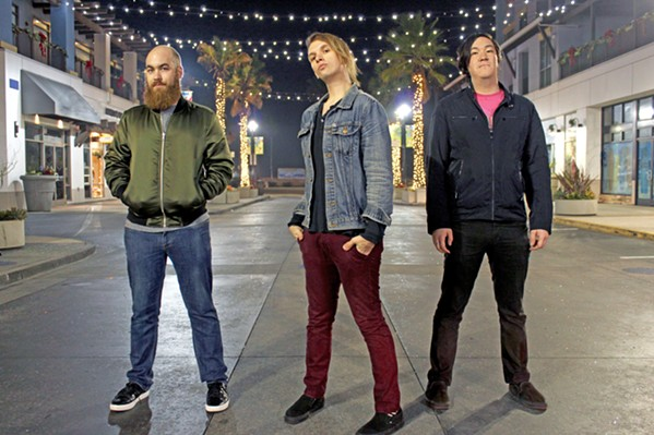 POWER TRIO Filmspeed will bring their blood-pumping anthems to Frog and Peach on Jan. 17. - PHOTO COURTESY OF FILMSPEED