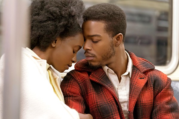 """UNBREAKABLE Tish Rivers (KiKi Layne) and her fiancé, Alonzo """"Fonny"""" Hunt (Stephan James), find their bond tested by a racist and unjust system. - PHOTOS COURTESY OF ANNAPURNA PICTURES"""