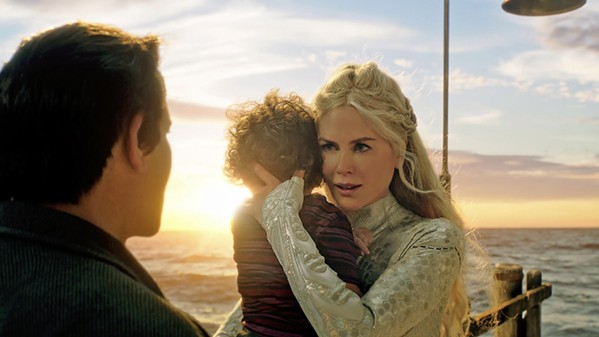 FISH OUT OF WATER Nicole Kidman plays Atlanna, an Atlantean princess who must return to the sea and leave her human husband and child, Arthur, behind in order to save their lives. - PHOTOS COURTESY OF WARNER BROS. ENTERTAINMENT INC.