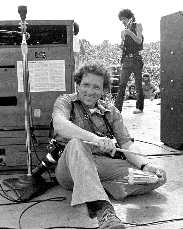 BEHIND THE LENS Former Rolling Stone magazine photographer Baron Wolman got his start in music photography at concerts in Haight Ashbury and Golden Gate Park in San Francisco. - PHOTOS COURTESY OF BARON WOLMAN
