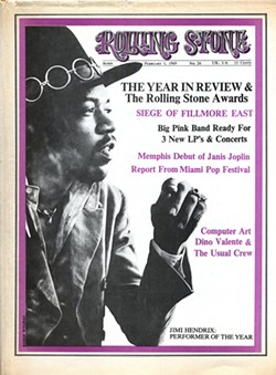 COVER STAR Some of photographer Baron Wolman's favorite Rolling Stone magazine covers include the photos he shot of rock guitarist Jimi Hendrix. - PHOTOS COURTESY OF BARON WOLMAN