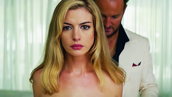 DESPERATE Karen (Anne Hathaway) needs protection from her abusive husband, Frank (Jason Clarke), but is she telling the truth? - PHOTOS COURTESY OF GLOBAL ROAD ENTERTAINMENT