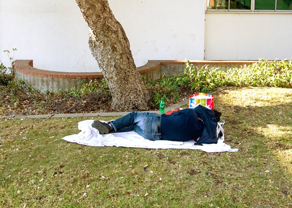 NO PLACE TO CALL HOME SLO County canceled plans to apply for up to $5 million in state grants to build more permanent housing for homeless individuals with mental illnesses. - FILE PHOTO BY JAYSON MELLOM