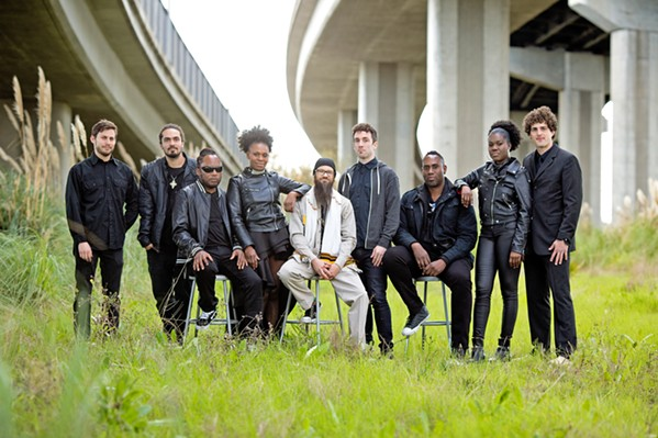 NEW AND IMPROVED After a three-year hiatus, Groundation has returned with new music, members, and energy, playing Feb. 9, in Fremont Theater. - PHOTO COURTESY OF GROUNDATION