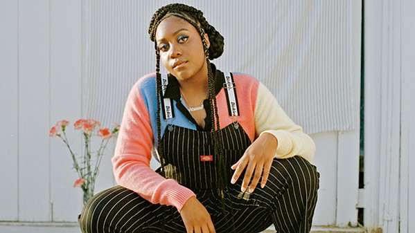 LOCKDOWN Noname will deliver deep digs at American culture in her jazz-rap style on Feb. 20 in Fremont Theater. - PHOTO COURTESY OF NONAME