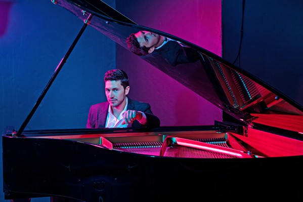 NYC JAZZ MAN Emmet Cohen and his trio play the Unity Concert Hall on Feb. 19. - PHOTO COURTESY OF EMMET COHEN