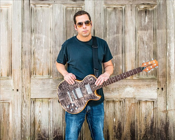 HARD BLUES Albert Castiglia brings his blues, soul, rock, and country sounds to the SLO Vets' Hall on Feb. 23. - PHOTO COURTESY OF ALBERT CASTIGLIA