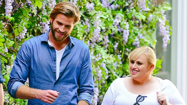 BEGUILE Ultra rich and handsome Blake (Liam Hemsworth) inexplicably falls for Natalie (Rebel Wilson) when she awakes from a head injury in an alternate universe filled with rom-com clichés. - PHOTOS COURTESY OF BRON STUDIOS