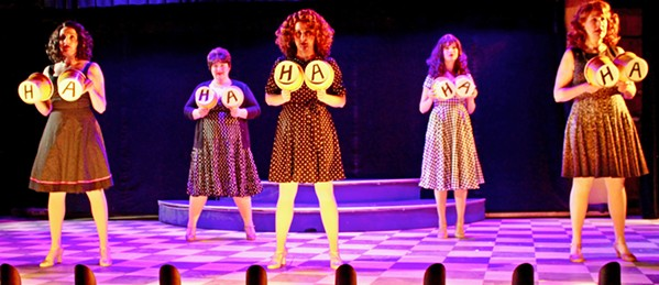 FUNNY GIRLS Once Steel Magnolias ends, the all-female cast puts on a hilarious vaudeville revue that pays tribute the comic and musical greats, like Gilda Radner and Carole King. - PHOTOS COURTESY OF THE GREAT AMERICAN MELODRAMA