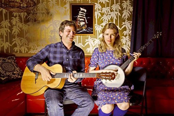 VINTAGE BLUES AND RAGTIME The Red Barn Community Music Series presents Craig Ventresco and Meredith Axelrod in concert on March 2, in The Beach Hut Deli. - PHOTO COURTESY OF DAVID BRAGGER