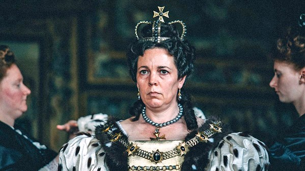 BEST ACTRESS! This year's Best Actress winner, Olivia Colman, stars as Queen Anne in The Favourite, returning to Bay Theater, Downtown Centre Cinemas, and Park Theater. - PHOTO COURTESY OF ELEMENT PICTURES