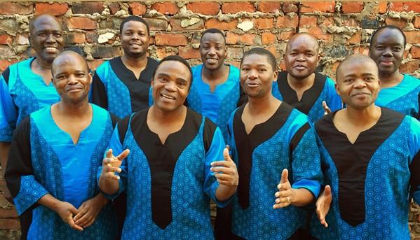 WORLD MUSIC HEROES Grammy Award winners Ladysmith Black Mambazo return to the Performing Arts Center on March 12. - PHOTO COURTESY OF LADYSMITH BLACK MAMBAZO
