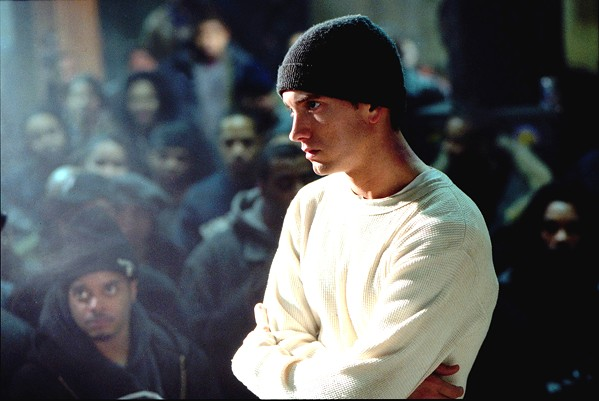 'YOU ONLY GET ONE SHOT' Eminem (pictured) was on top of the rap world when he starred in the 2002 semi-autobiographical film, 8 Mile. - PHOTO COURTESY OF UNIVERSAL PICTURES