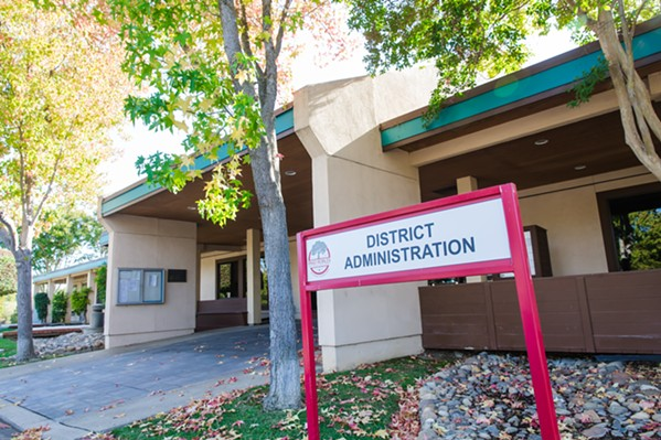 CHIPPING AWAY The first round of cuts for Paso Robles Joint Unified School District largely avoid impacting the classroom. - FILE PHOTO BY JAYSON MELLOM