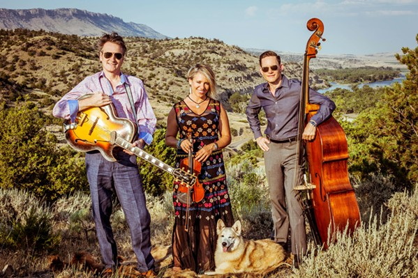 CELEBRATE 'THE BAND' Playing songs from roots rock act The Band's first two albums as well as originals, Hot Club of Cowtown (left) will join The Dustbowl Revival at the Fremont on March 20. - PHOTO COURTESY OF HOT CLUB OF COWTOWN