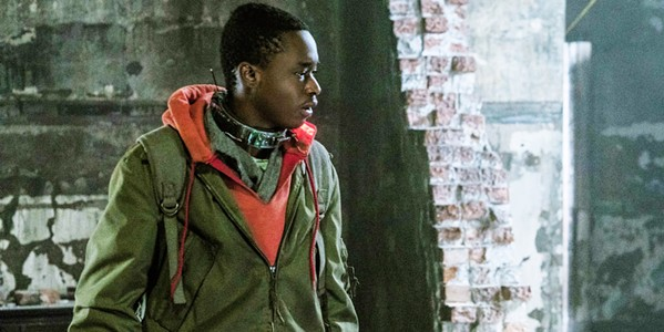 FIGHT OR FLIGHT Ten years into an alien occupation, Gabriel (Ashton Sanders) must decide if he wants to join the resistance or stay a human slave to the aliens, in Captive State. - PHOTO COURTESY OF DREAMWORKS