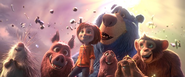 BELIEVE June (voiced by Brianna Denski), who lost her mother and her imagination, discovers an amusement park she invented as a little girl and realizes it's in danger of being destroyed, in the animated family adventure, Wonder Park. - PHOTO COURTESY OF ILION ANIMATION STUDIOS