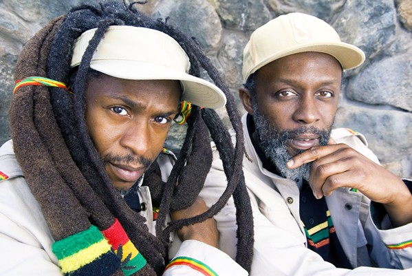 RED, YELLOW, AND GREEN Longtime British reggae act Steel Pulse plays the Fremont Theater on March 31. - PHOTO COURTESY OF STEEL PULSE