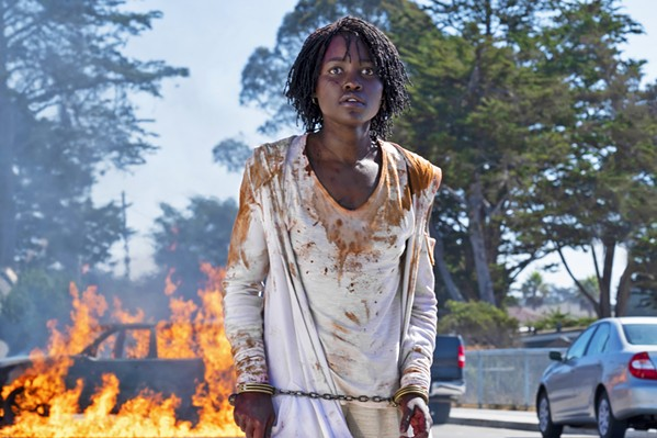 VIOLENT SIDE Adelaide (Lupita Nyong'o) discovers she's just as capable of unspeakable violence as the double who's out to kill her. - PHOTO COURTESY OF MONKEYPAW PRODUCTIONS