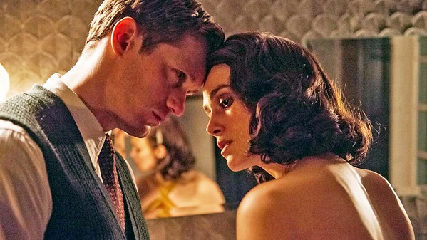 FORBIDDEN In post-World War II Hamburg, German widower Stephen Lubert (Alexander Skarsgård) seduces Rachael (Keira Knightley), the wife of a British colonel, in The Aftermath. - PHOTO COURTESY OF FOX SEARCHLIGHT PICTURES