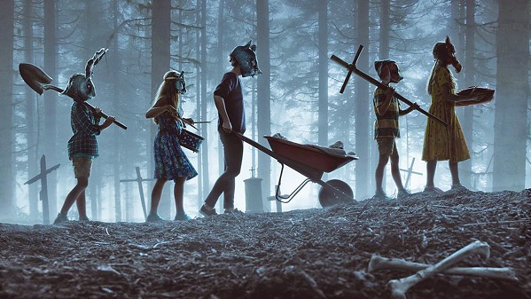 SOMETHING'S IN THE WOODS A new adaptation of Pet Sematary, the Stephen King novel about a supernatural burial ground, explores raising the dead. - PHOTO COURTESY OF ALPHAVILLE FILMS